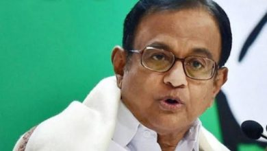Photo of After a long 27 hours, P Chidambaram comes out in public in Congress party office and says 'I am innocent'