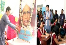 Photo of Biplab Kumar Deb set an example for leaders! For a day he became the teacher for the students.