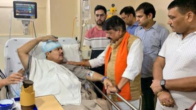 Photo of Attack on BJP MP Arjun Singh by Trinamool activists