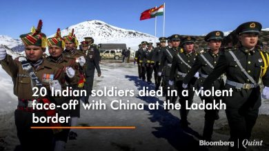 Photo of 20 Indian soldiers died in Galwan valley face-off with china